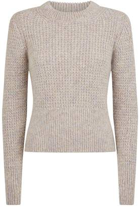Sandro Ribbed Knit Sweater