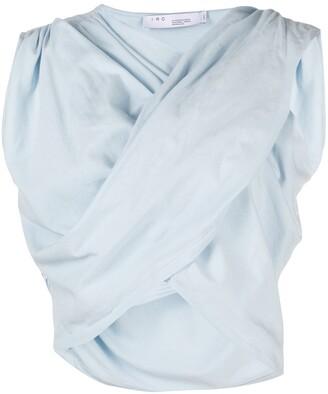 IRO criss-cross drape T-shirt