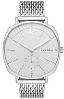 Skagen 'Rungsted' Mesh Strap Watch, 34mm