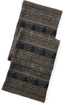 Ralph Lauren Fair Isle Cotton-Wool Scarf