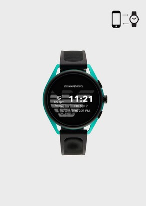 Emporio Armani Smartwatch 3 Green Aluminum