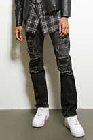 Forever 21 FOREVER 21+ Dope Distressed Jeans
