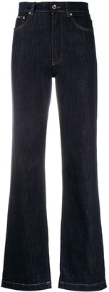 Dolce & Gabbana High-Waisted Bootcut Jeans