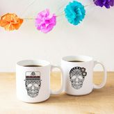 Cathy's Concepts Cathys concepts His & Hers Sugar Skull Coffee Mug Set