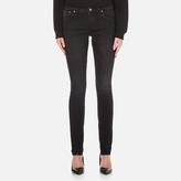 Nudie Jeans Skinny Lin Jeans Black Habit