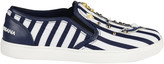 Dolce & Gabbana Marine Style Slip-On Sneakers