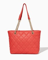 Charming charlie Luna Luxe Quilted Tote