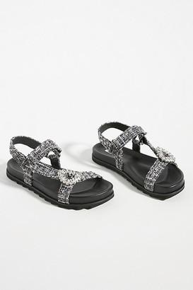 Bibi Lou Eleuthera Sandals By in Black Size 36