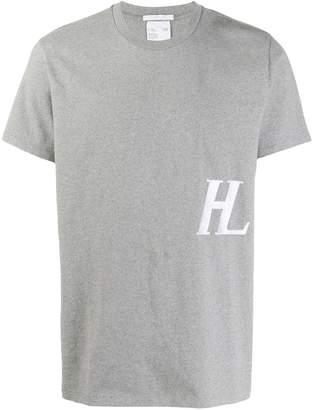Helmut Lang monogram print T-shirt