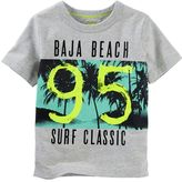 "Osh Kosh Toddler Boy Baja Beach 95 Surf Classic"" Graphic Tee"