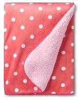 Circo; Valboa Baby Blanket - Coral Dot