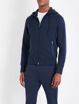 BOSS GREEN Pocket-detailed jersey hoody