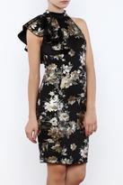 Mystic Flutter Sleeve Dress