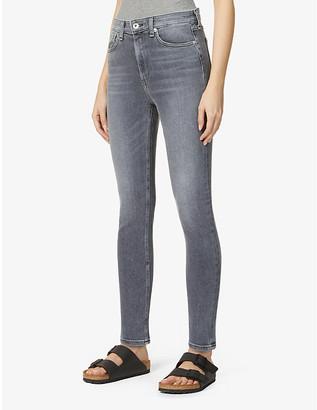 Rag & Bone Nina skinny high-rise cotton-blend stretch-denim jeans