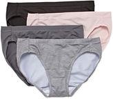 Hanes Ultimate Cool Comfort Microfiber Bikini Panties - 4pk