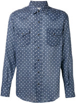 Saint Laurent star print Western shirt