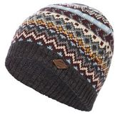 Mantaray Grey Fair Isle Beanie Hat