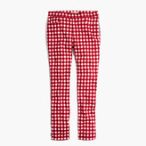 "Madewell 9"" High-Rise Skinny Crop Jeans: Gingham Edition"