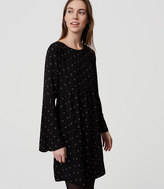 LOFT Bell Sleeve Dress