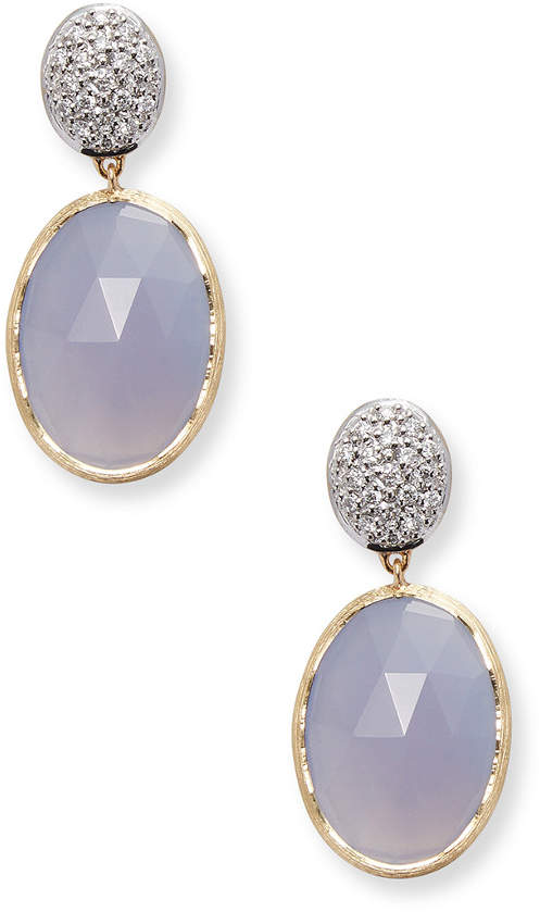 Marco Bicego 18K Yellow Gold 0.29 Ct. Tw. Diamond & Gemstone Earrings