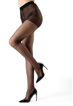 Me Moi Women's Crystal Sheer Control Top Pantyhose