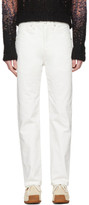 Lemaire Off-white Slim Jeans