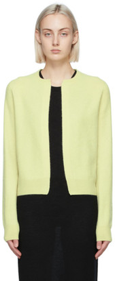 Frenckenberger Green Cashmere Mini Cardigan