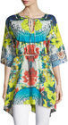 johnny was floralprint tunic multi