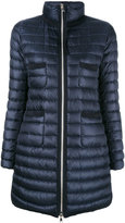 Moncler Bogue padded coat - women - Feather Down/Polyamide - 1