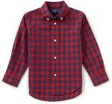 Ralph Lauren Little Boys 2T-7 Checked Long-Sleeve Poplin Shirt