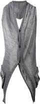 Masnada back slits cardigan - men - Linen/Flax/Viscose - M