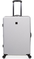 """Revo CLOSEOUT! Stripes 25"""" Expandable Spinner Suitcase, Created for Macy's"""