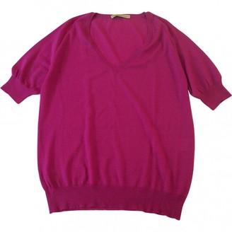 Balenciaga Pink Wool Knitwear for Women Vintage