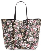 Alexander McQueen Skull Open Shopper - Black