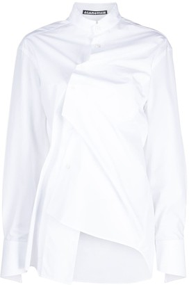 aganovich Deconstructed Asymmetric Shirt