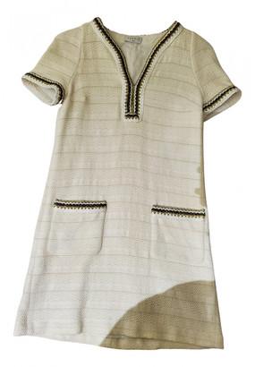 Sandro Spring Summer 2019 White Cotton Dresses