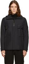 Stone Island Black Bloson Hooded Jacket