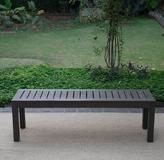Alfresco Backless Outdoor Bench