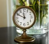 Pottery Barn Brass Desktop Clock