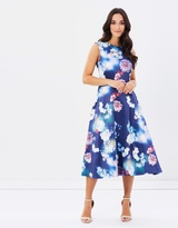 Oasis Photographic 2 For Midi Dress