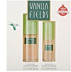 Coty Vanilla Fields by 2-piece Gift Set: 2 Oz and 1 Oz + FREE Old Spice Deadlock Spiking Glue, Travel Size, .84 Oz