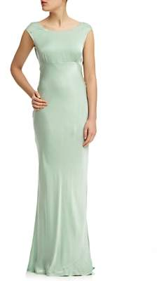 Ghost Salma Satin Maxi Dress
