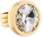 Lanvin Crystal Cocktail Ring
