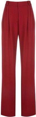 Rosetta Getty Wide-Leg Tailored Trousers