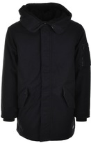 Converse Warm Fishtail Parka Jacket Black