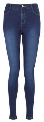 Dorothy Perkins Womens **Tall Indigo 'Frankie' Super Soft Skinny Jeans