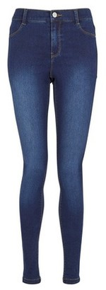 Dorothy Perkins Womens Tall Indigo 'Frankie' Super Soft Skinny Jeans