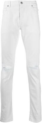 Balmain Ripped Skinny-Fit Jeans