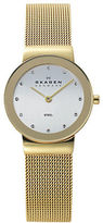 Skagen Ladies Goldtone Mesh Strap Watch