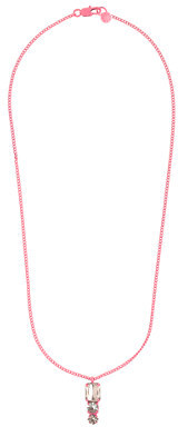 J.Crew Girls' stone tower pendant necklace